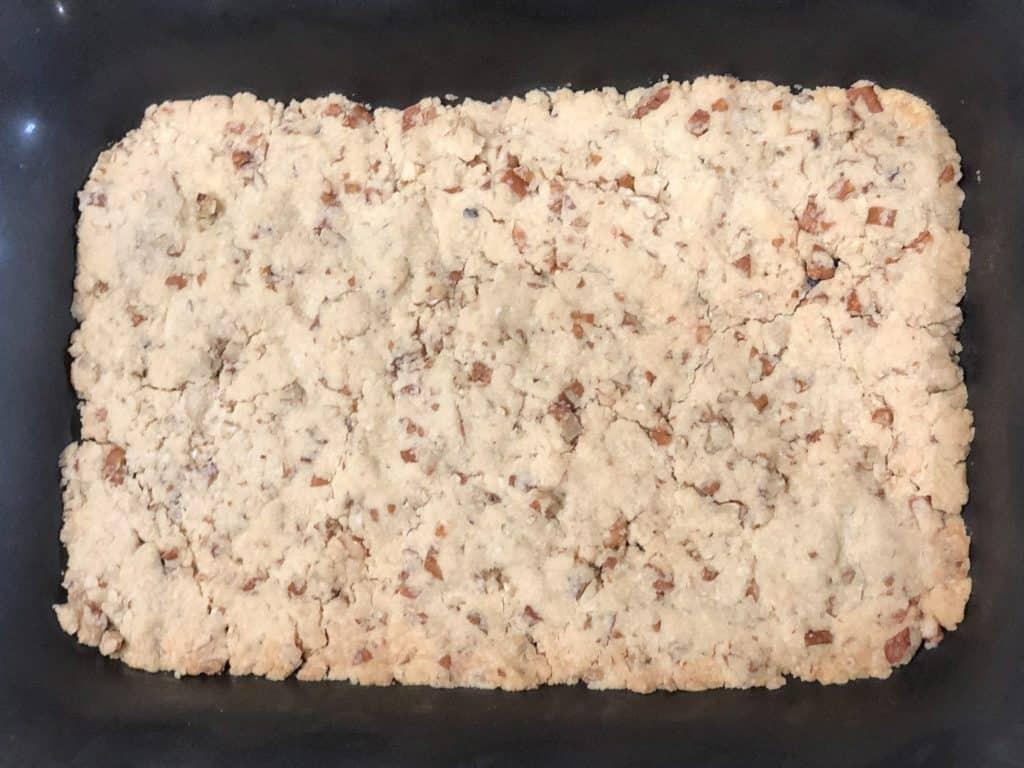 Butterscotch Delight Shortbread Layer