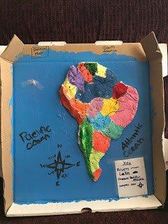 Salt Dough Map Emily's Salt Dough Map | Grace Like Rain Blog