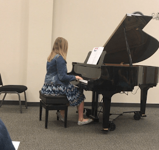 Emily's Piano Recital