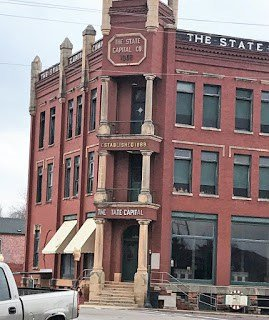 State Capital Publishing Museum in Guthrie Oklahoma