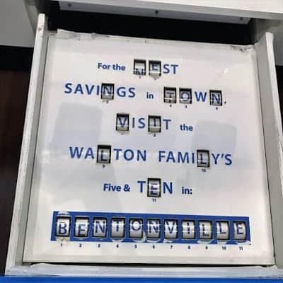 Interactive Display at Walmart Museum