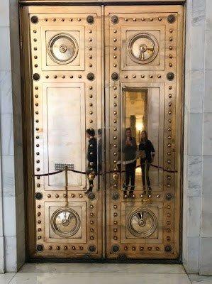 Bronze Doors Arkansas State Capitol