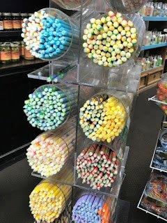 Candy Sticks Display