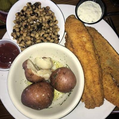 Dinner at Fisherman's Wharf