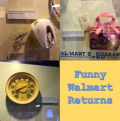 Funny Walmart Returns