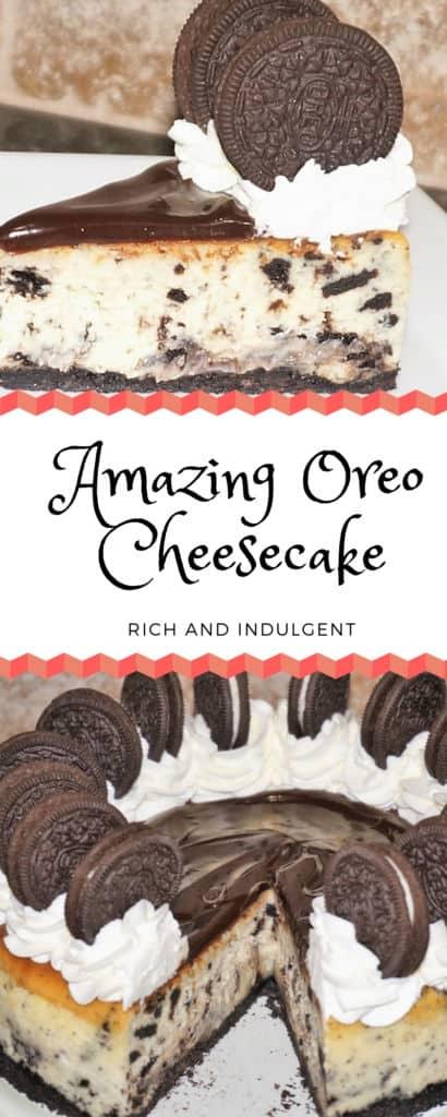 Amazing Oreo Cheesecake