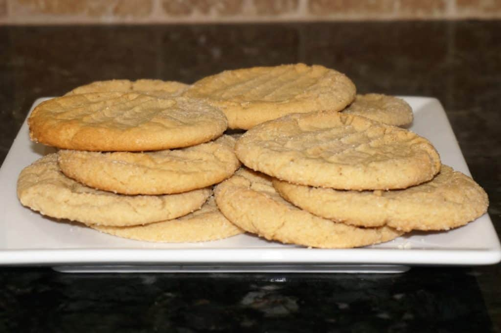 lots of peanut butter cookies