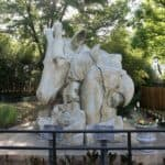 Statue at Frank Buck Zoo
