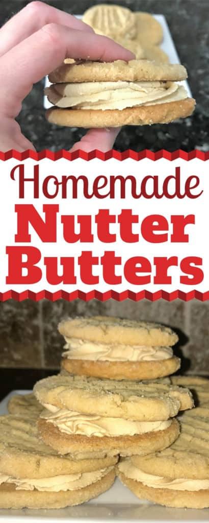 Homemade Nutter Butters