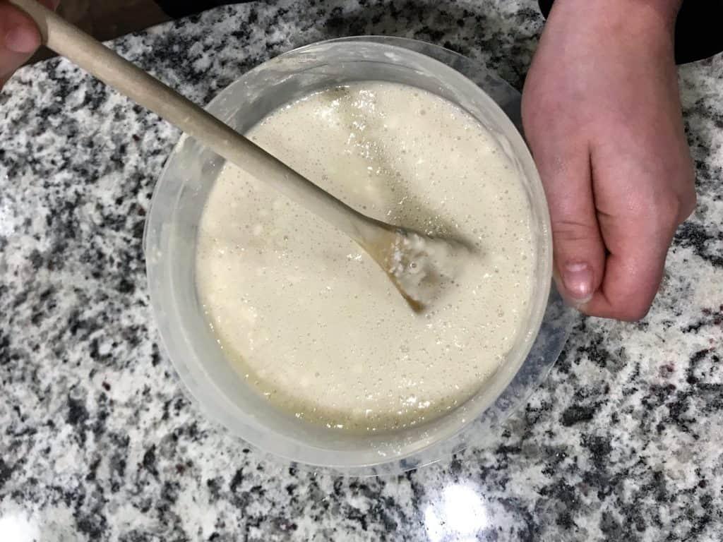 fruit cobbler batter