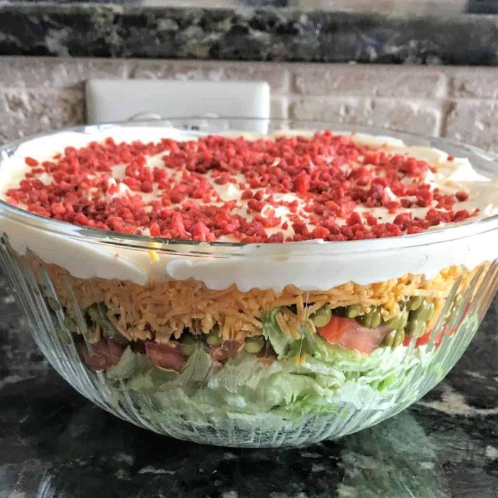 Green Pea Salad