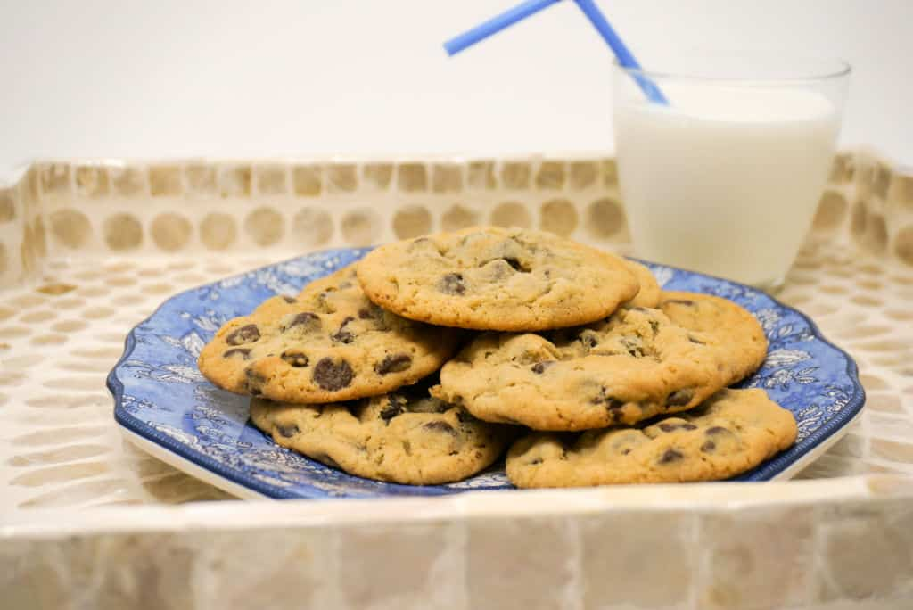 Best Chocolate Chip Cookies with Milk