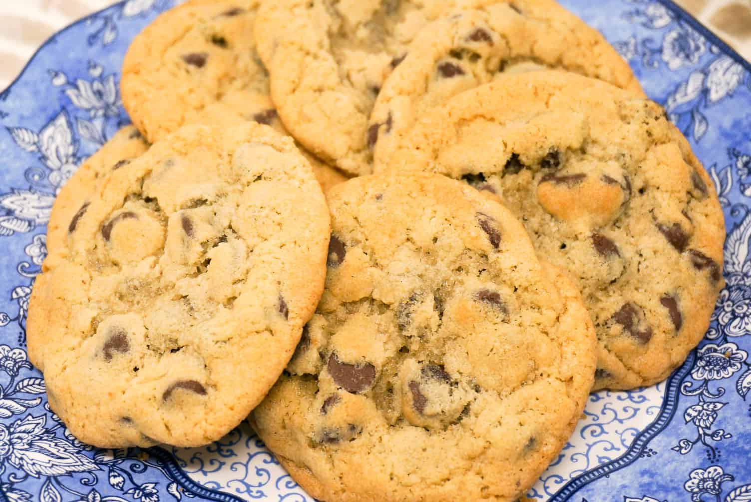 Rainy Day Chocolate Chip Cookies