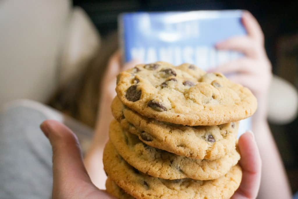 Chocolate Chip Cookies Made with Butter