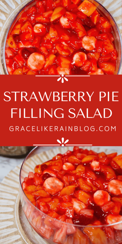 Strawberry Pie Filling Salad
