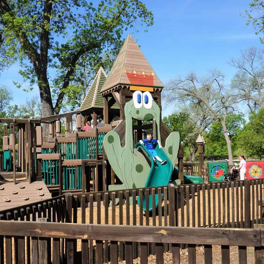Slide at Leonard Park