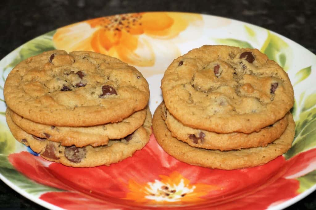Short Stack Peanut Butter Chocolate Chip Cookies