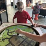 Balancing Table at Exploration Place
