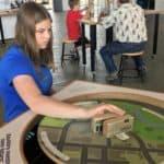 Balancing Game at Exploration Place