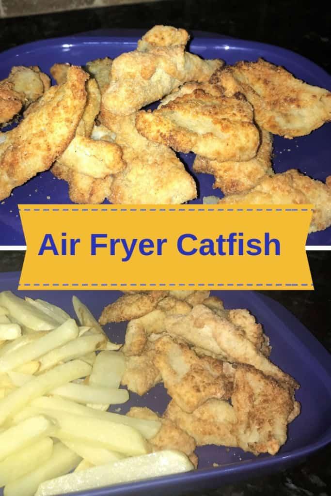 Air Fryer Catfish Infographic