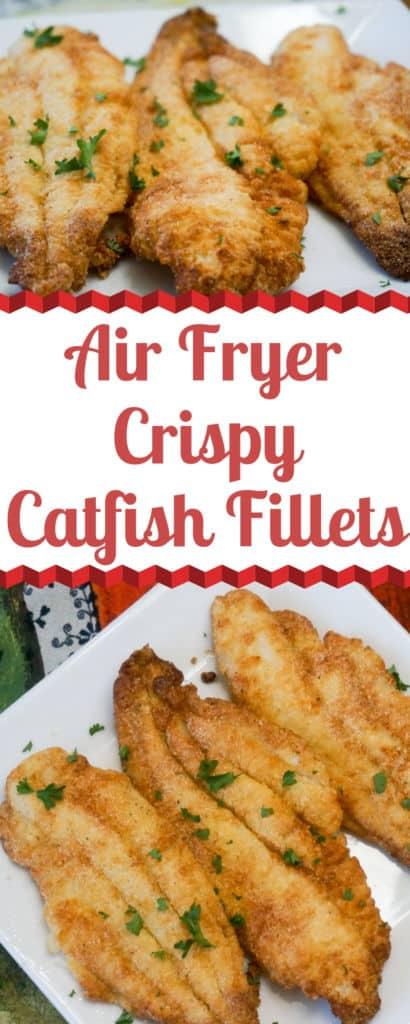 Air Fryer Crispy Catfish Fillets