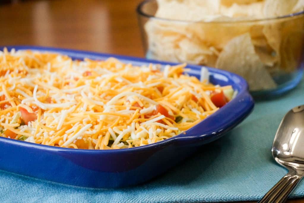 Mexican 7-Layer Dip