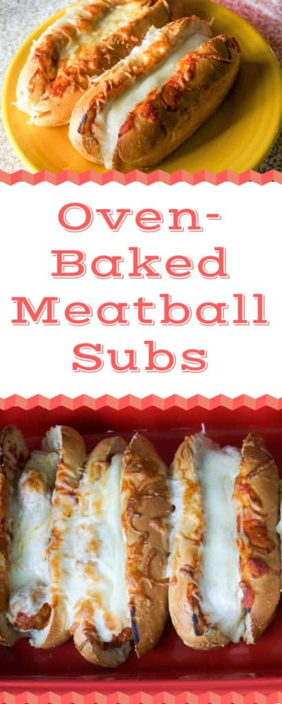 Oven-Baked Meatball Subs