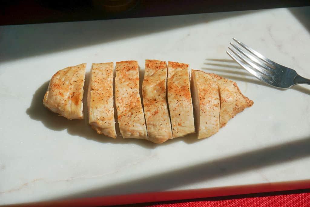 Sliced Boneless Chicken Breast