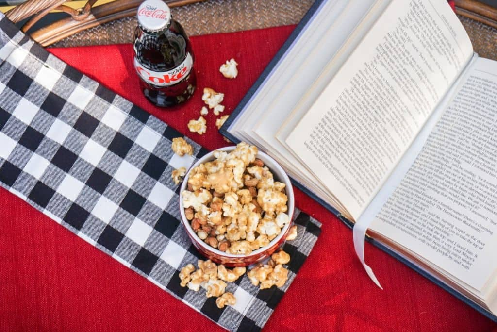 Popcorn and Peanuts and a Coke