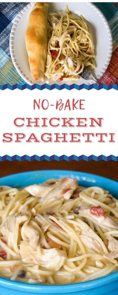 No-Bake Chicken Spaghetti