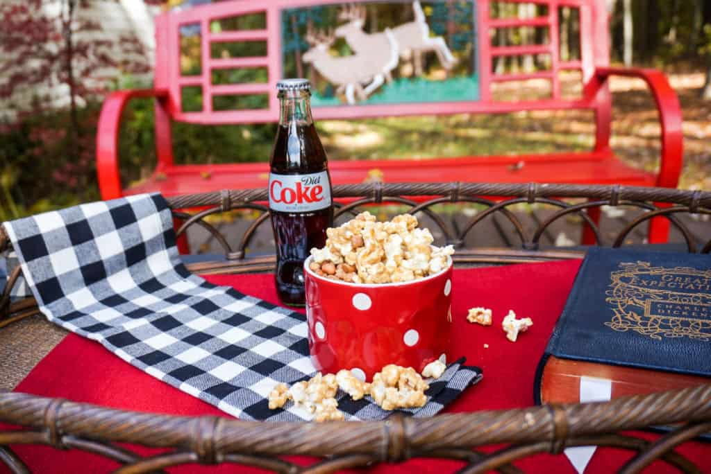 Caramel Popcorn and a Diet Coke
