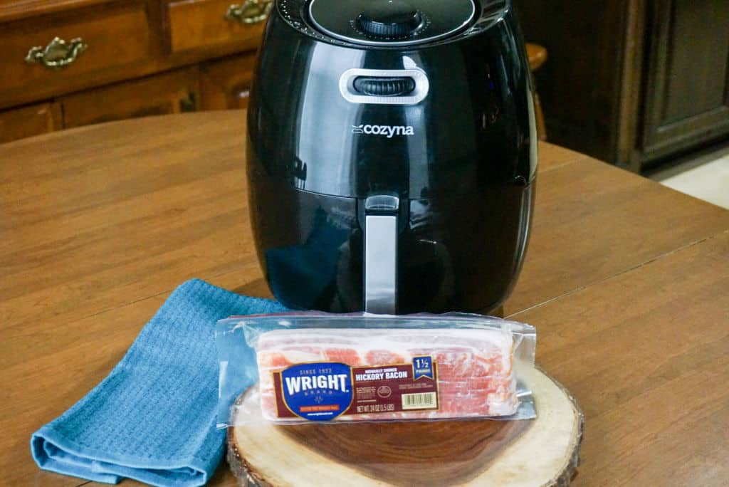 Bacon and Air Fryer
