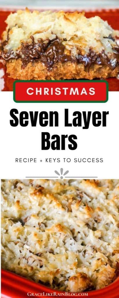 Christmas Seven Layer Bars