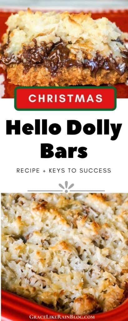 Christmas Hello Dolly Bars