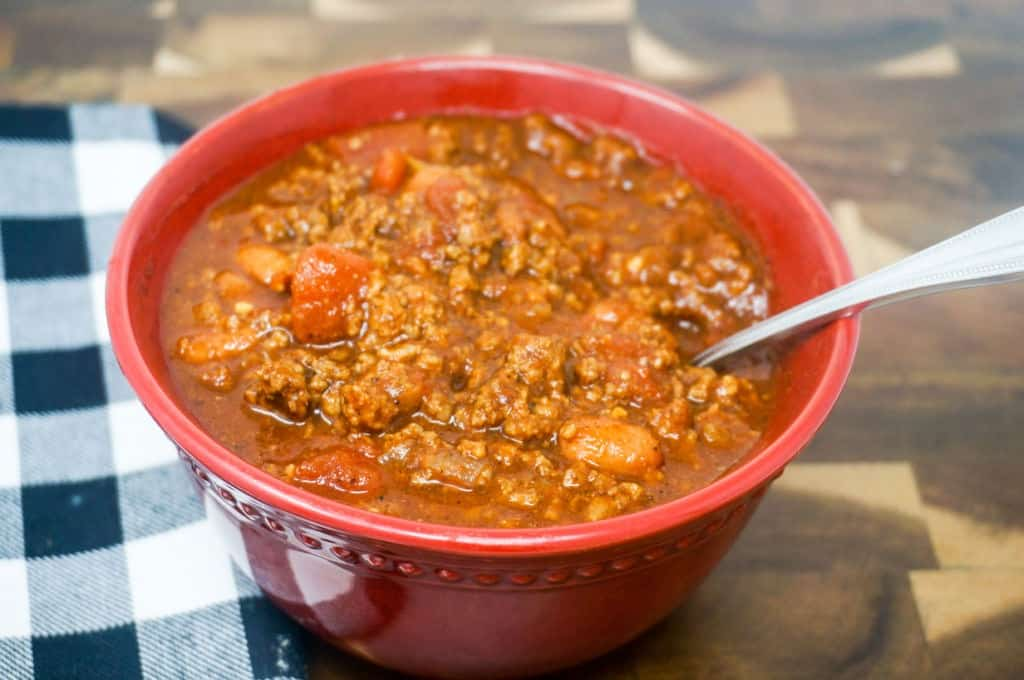 Chili in the Instant Pot