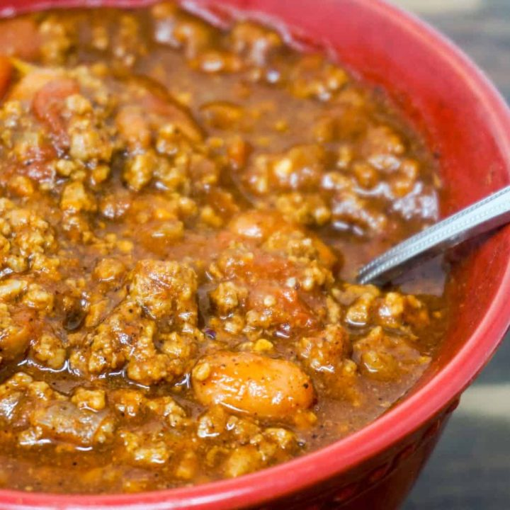 Instant Pot Chili with Beans