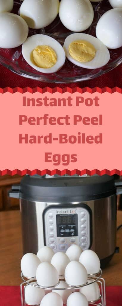 Instant Pot Perfect Peel Hard Boiled Eggs