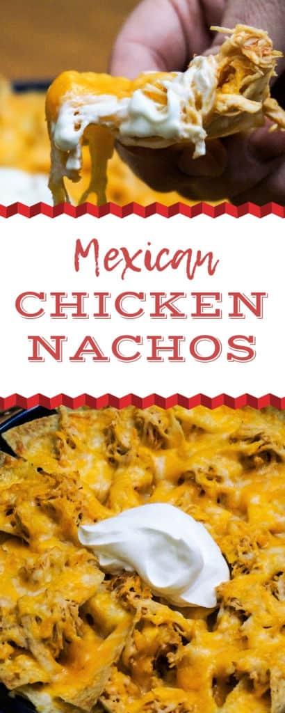 Mexican Chicken Nachos