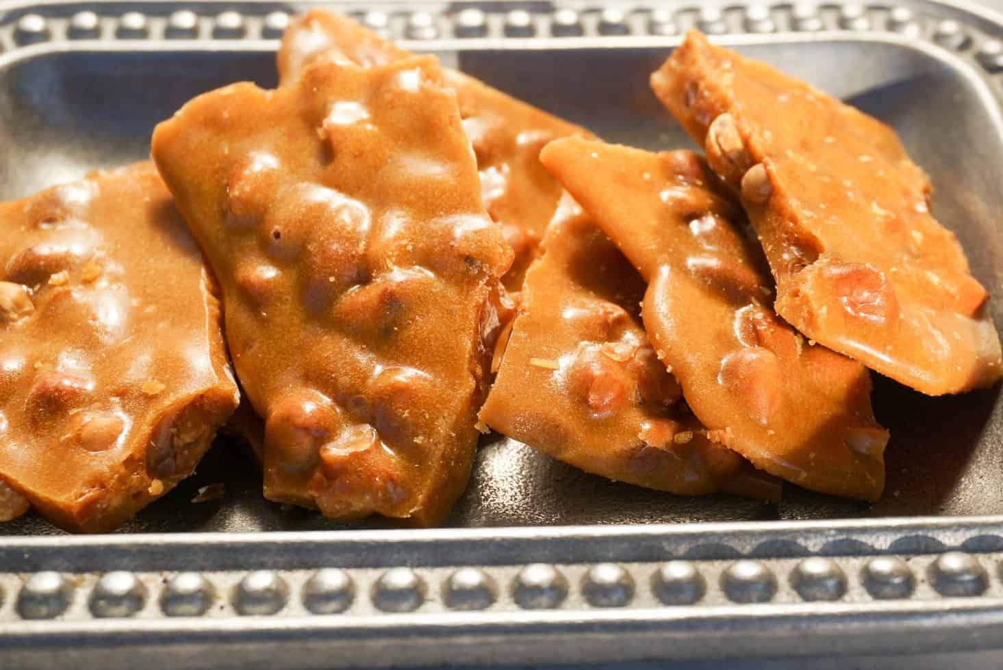 Buttery Peanut Brittle Recipe