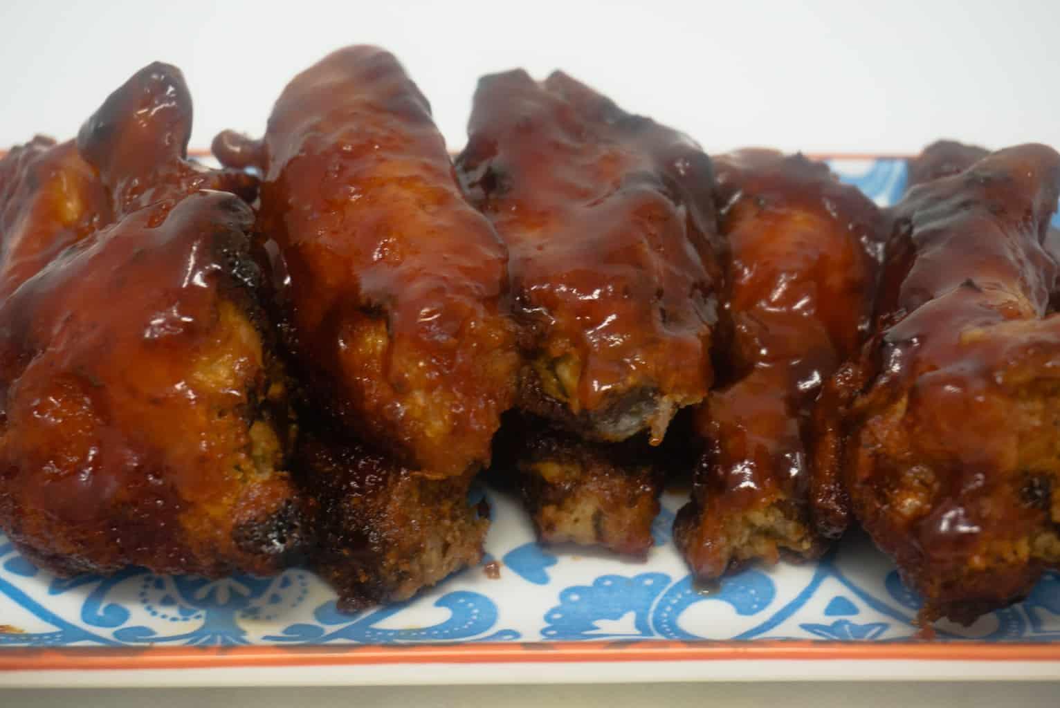 BBQ Chicken Wings in Air Fryer