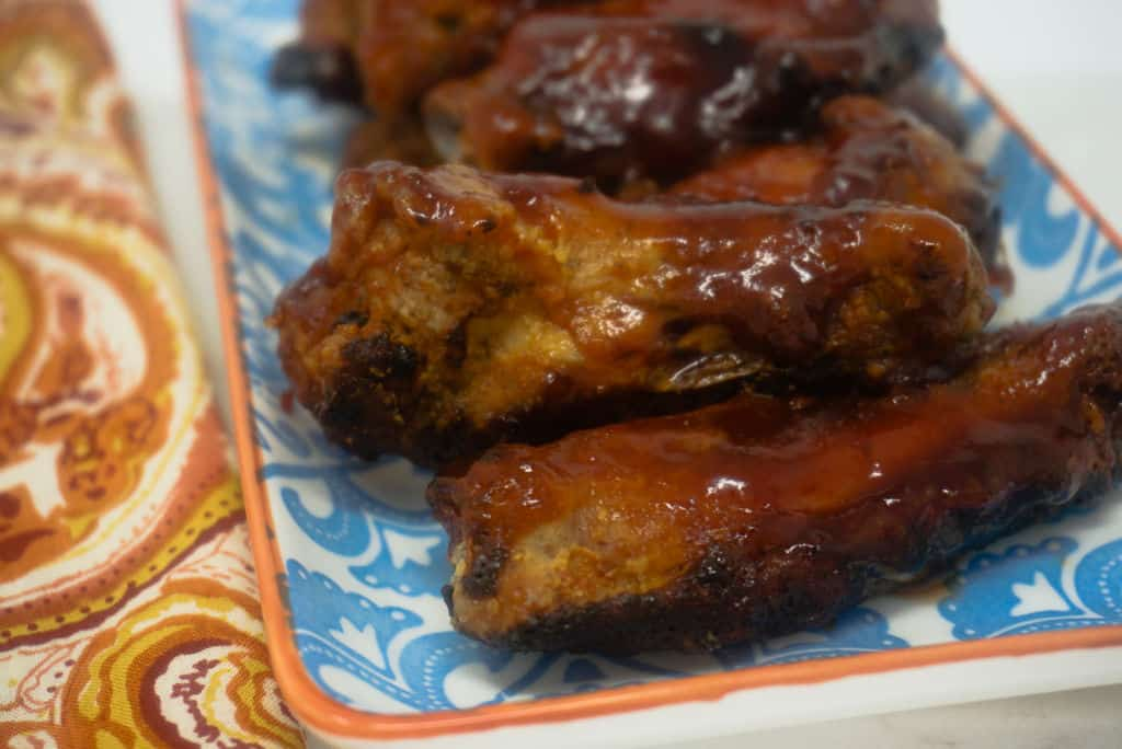 Barbecue Chicken Wings in Air Fryer