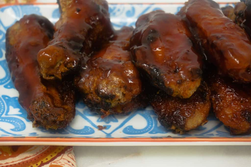 Air Fryer Barbecue Chicken Wings