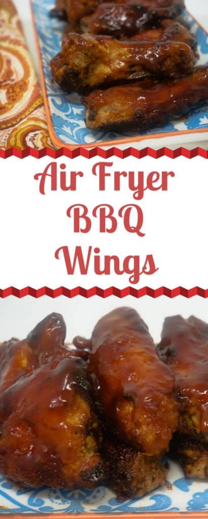 Air Fryer BBQ Wings
