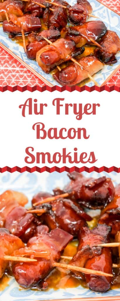 Air Fryer Bacon Smokies