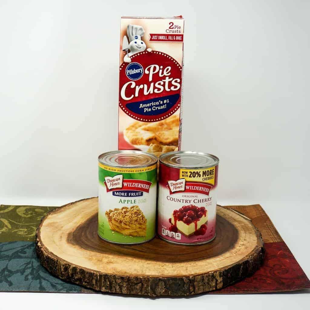 Ingredients for Air Fryer Fried Pies