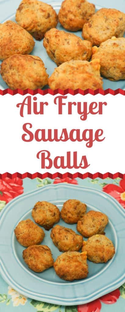 Air Fryer Sausage Balls