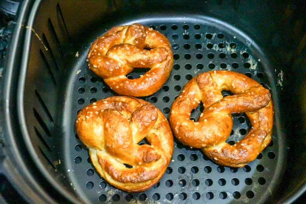 Pretzels in Air Fryer