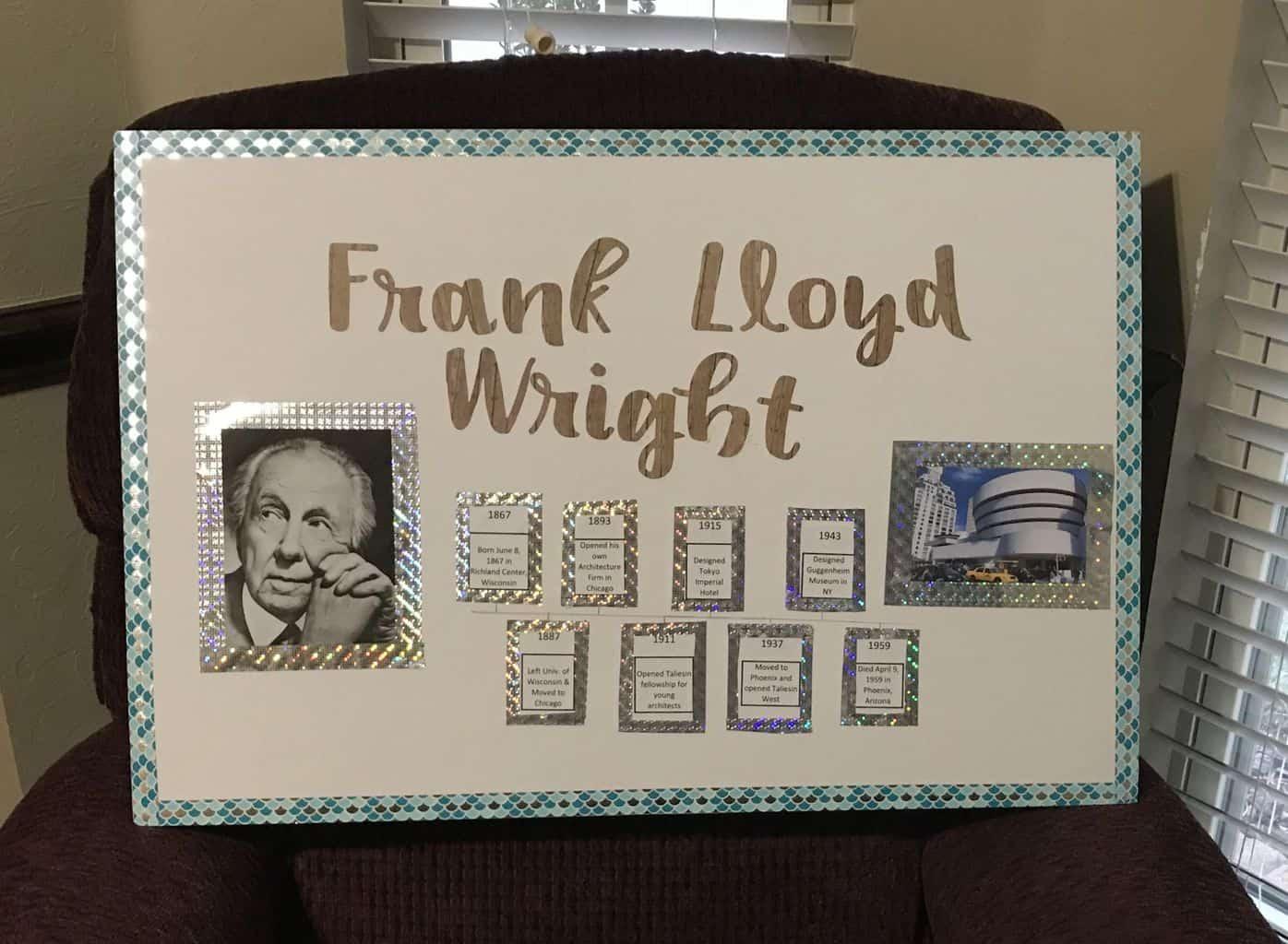 Weekly Wrap-up – Frank Lloyd Wright
