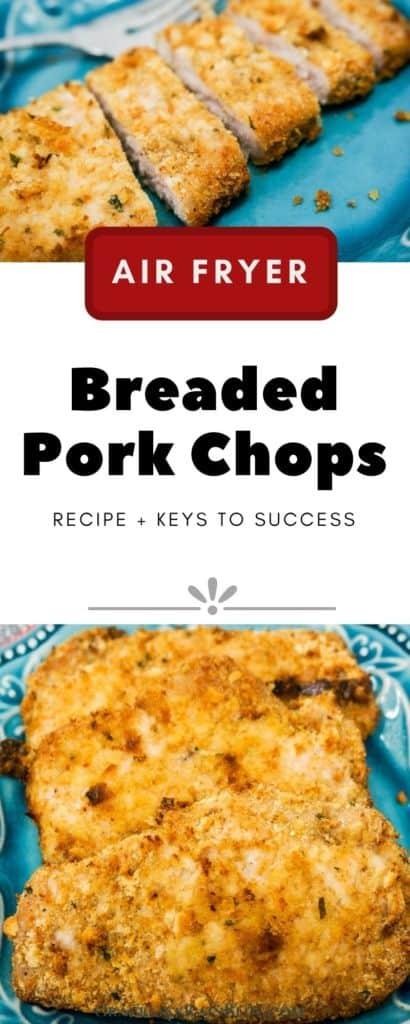 Air Fryer Breaded Pork Chops