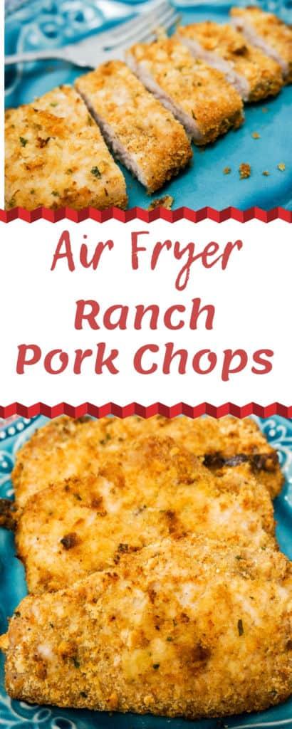 Air Fryer Ranch Pork Chops